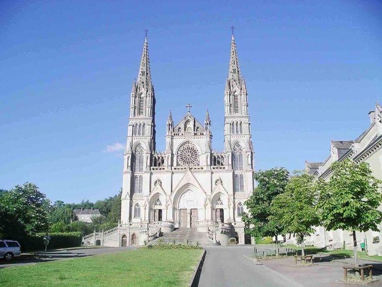 La basilique Notre-Dame de Montligeon