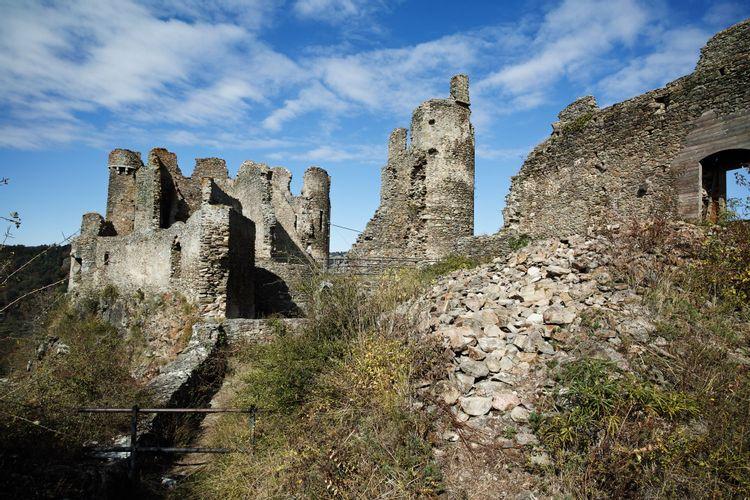 Château-Rocher à Saint-Rémy-de-Blot