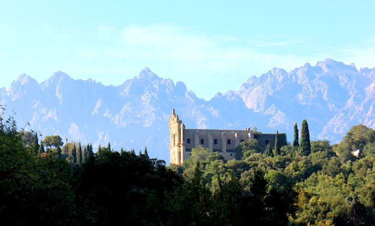 Restauration du couvent de Caccia en Haute-Corse