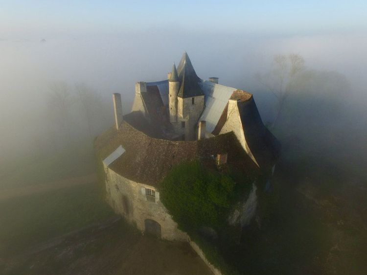 le château de meauce avant les travaux
