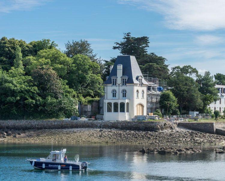 Maison de maître de l'île Tristan à Douarnenez