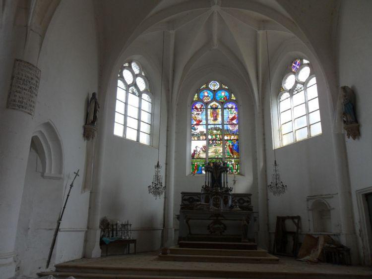 Eglise de l'Assomption-de-la-Vierge de Puits-et-Nuisement dans l'Aube