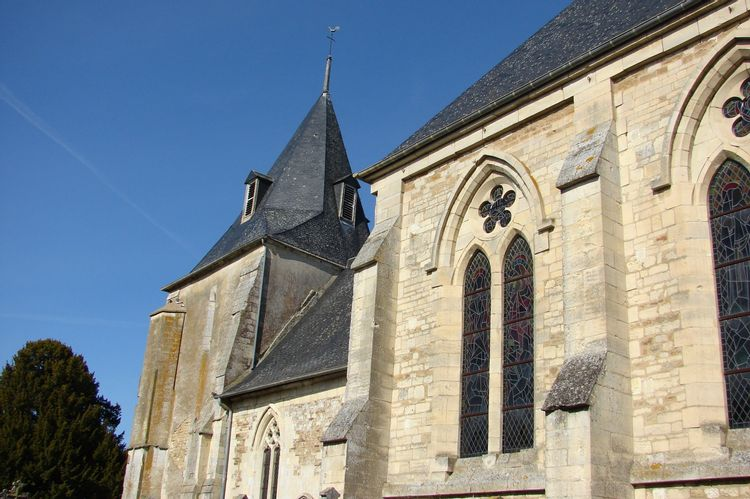 L'église de Sainte-Honorine-du-Fay - Calvados