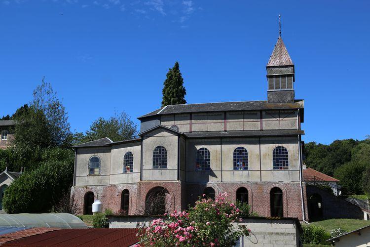 L'église Saint-Jean-Baptiste de Triquerville (Port-Jérôme-sur-Seine)