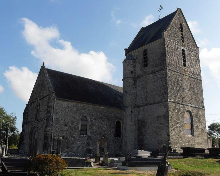 L'église Saint-Vigor de Joganville
