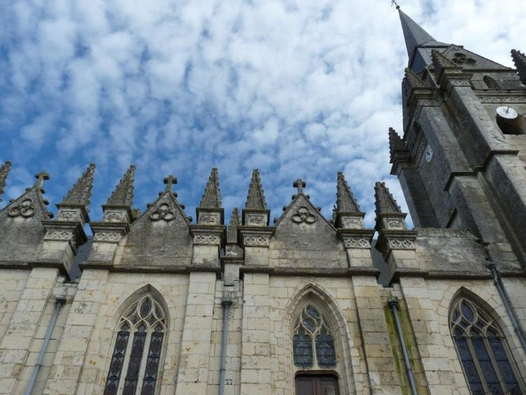 L'église Saint-Barthélemy du Pin-la-Garenne