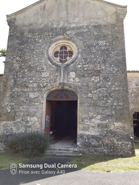 Porte église