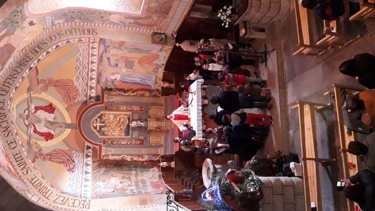 Messe au Vernet-Sainte-Marguerite