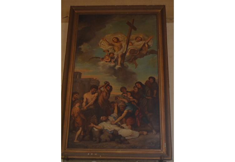 tableau la lapidation de saint etienne