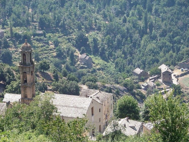Restauration du couvent de Morosaglia en Haute-Corse