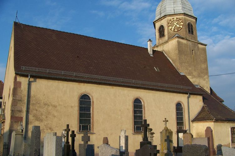 eglise sainte-agathe de niederentzen