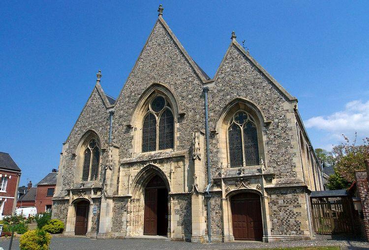 L'église Saint-Aubin de Criel-sur-mer