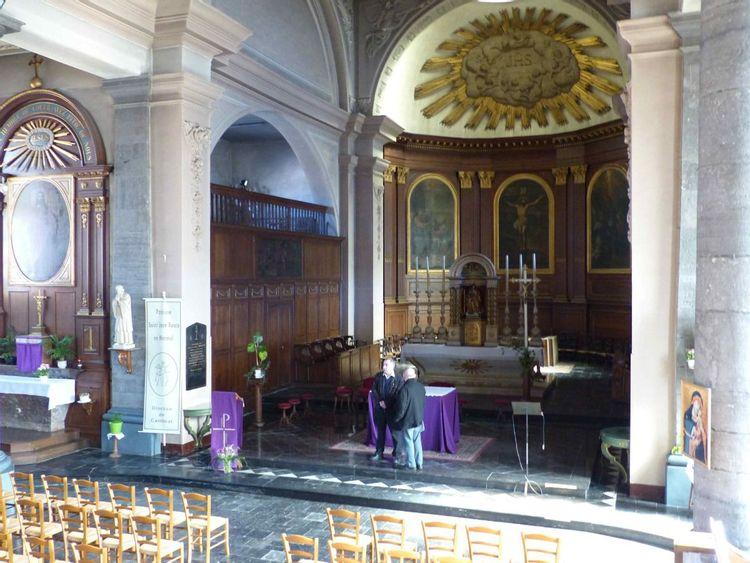 Intérieur de l'église Notre Dame de Le Quesnoy