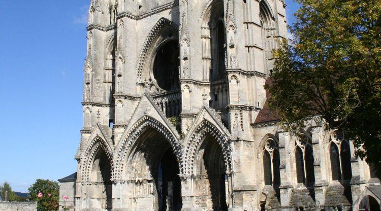 abbaye saint-jean-des-vignes - ville de soissons