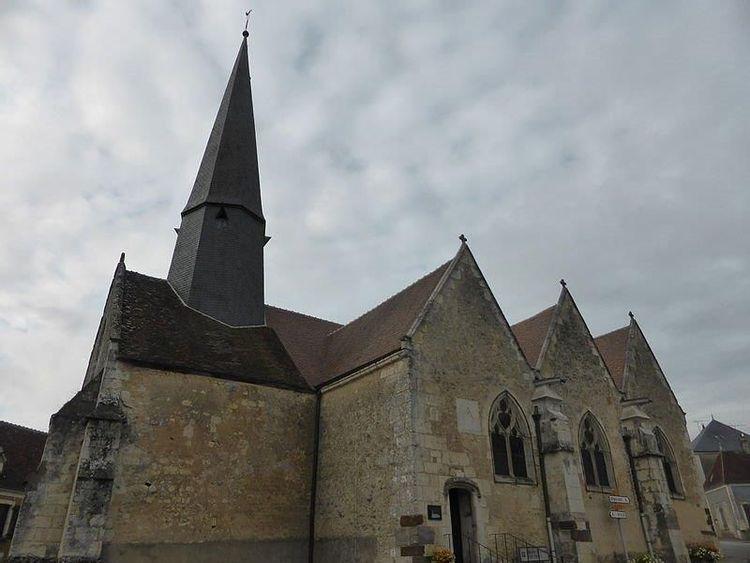 L'église Saint-Ouen de Verrières