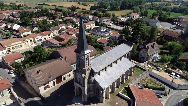 Eglise de la Décollation-de-Saint-Jean-Baptiste d'Ancemont en Meuse