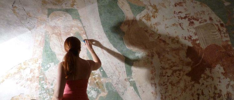 peintures murales de l'église de buffières