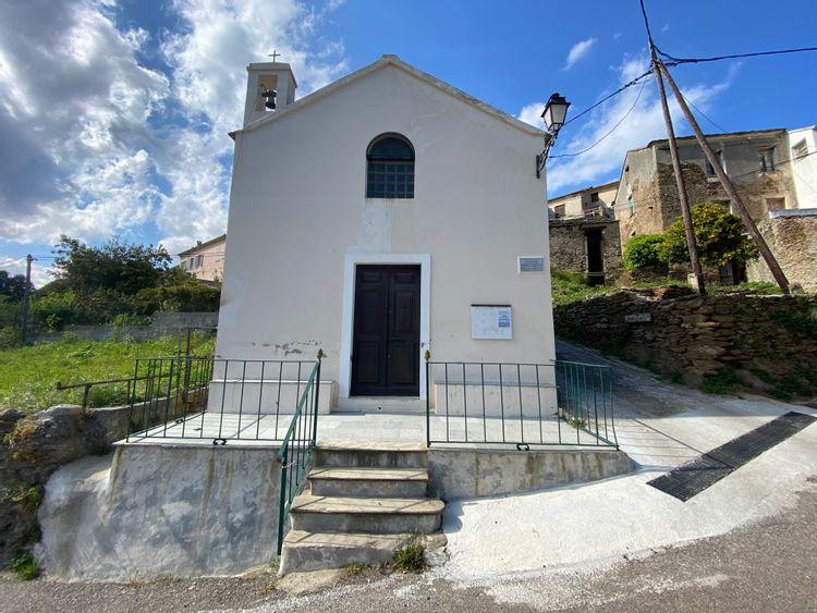 Restauration de la chapelle Saint-Sébastien à Luri