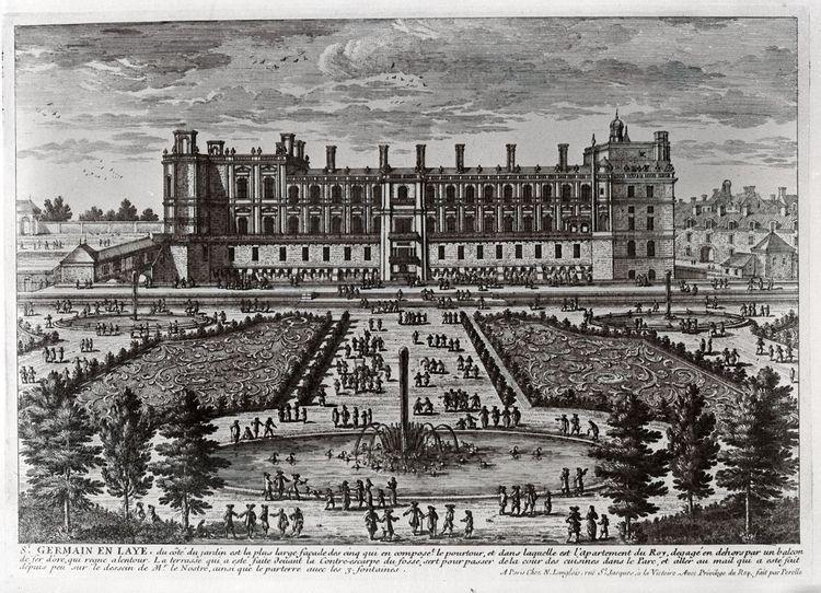 Grand bassin du domaine de St-Germain-en-Laye