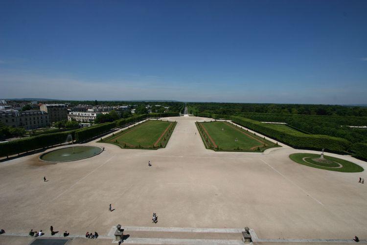 Vue du Château de Saint-Germain-en-Laye