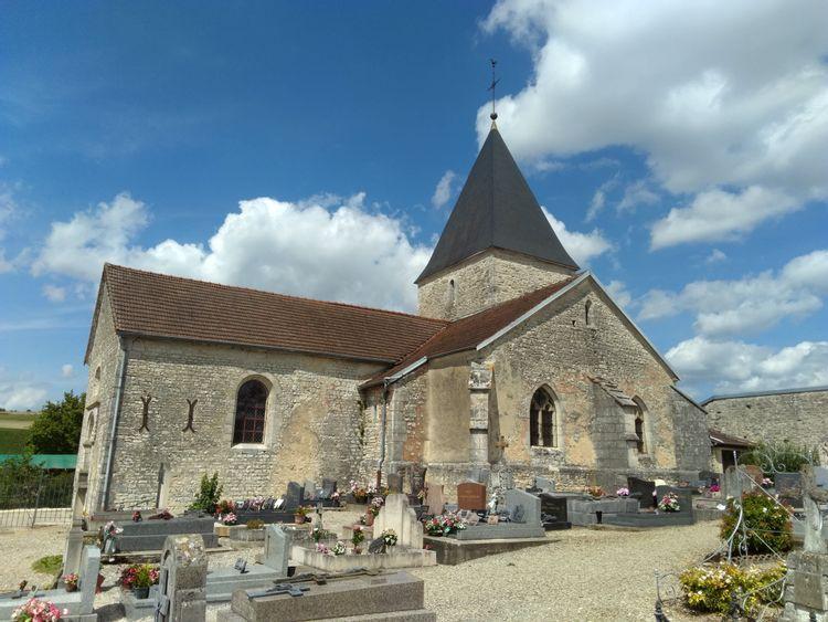Eglise Saint-Martin de Colombé-le-Sec
