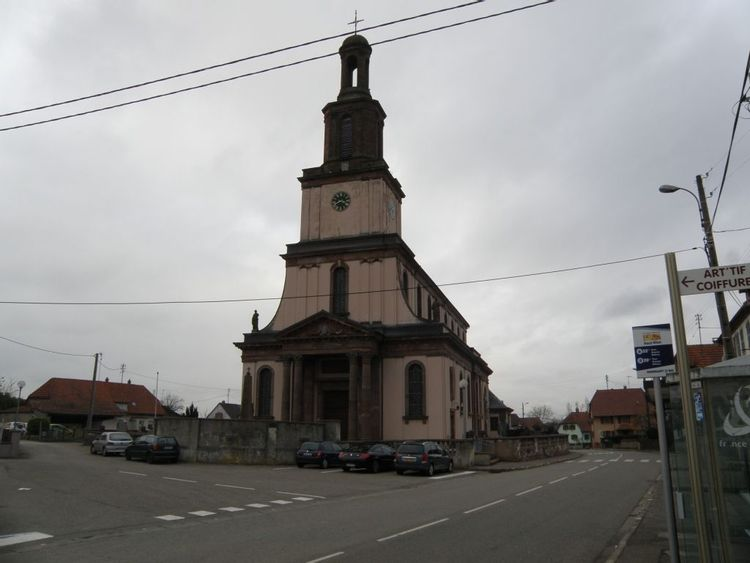 eglise saint pierre et paul de burnhaupt le bas