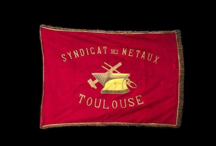 drapeaux des corporations ouvrières
