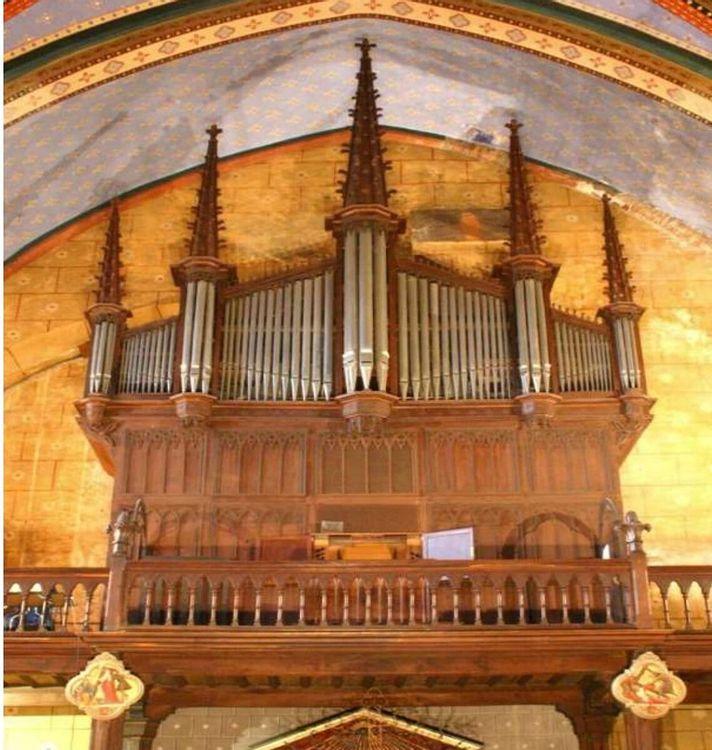 orgue de l'église saint-martin à vic-en-bigorre