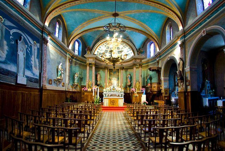 Eglise de Villeneuve d'Olmes
