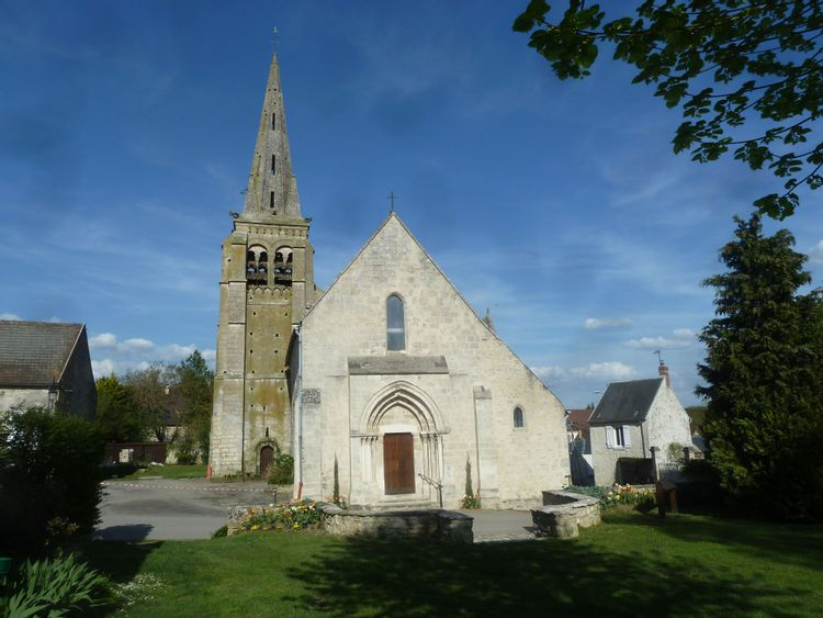 Eglise Saint-Caprais d'Auger-Saint-Vincent
