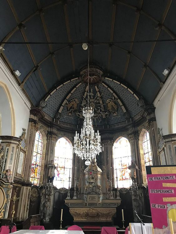 Intérieur - Eglise Saint-Omer de Bambecque