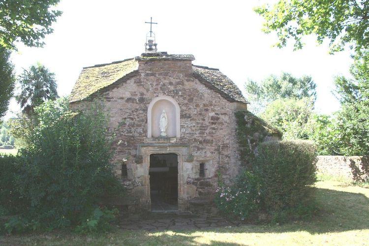 chapelle de l'ermitage à vabres l'abbaye