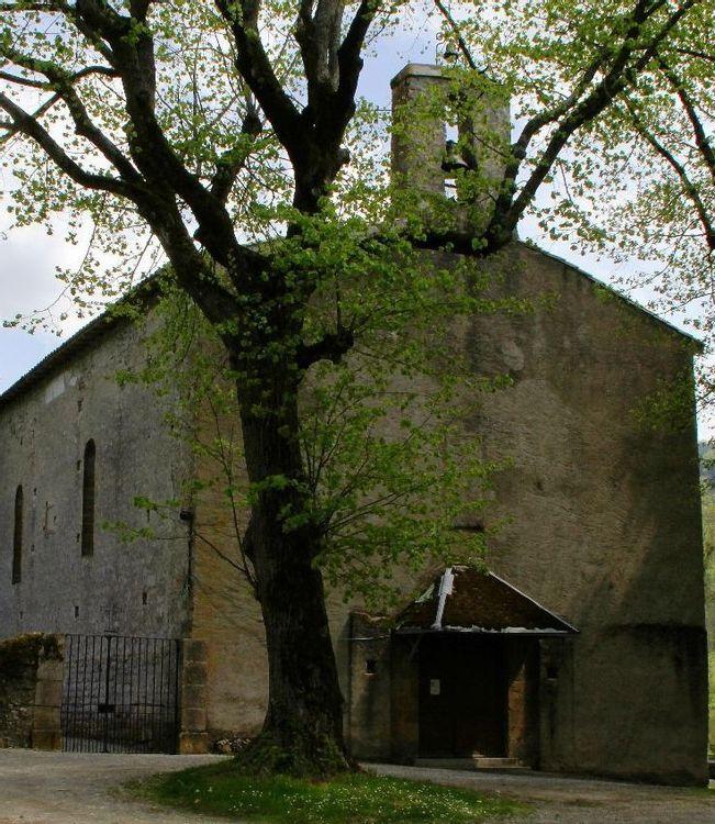 chapelle du val d'amour à belesta