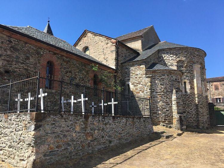 Chapelle Notre-Dame de l'Auder à Ambialet
