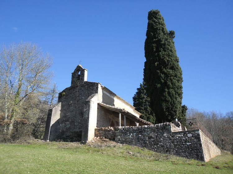 chapelle notre-dame des bois à larroque