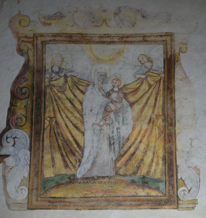 Vierge à l'Enfant de l'église Saint-Symphorien de Levezou