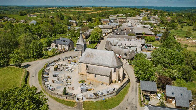 L'église Saint-Martin d'Orignac