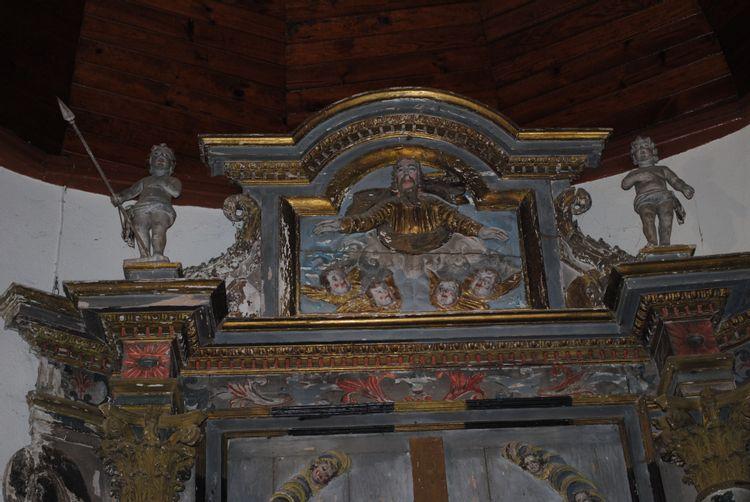 Retable et Tabernacle de l'église de Saux à Lourdes