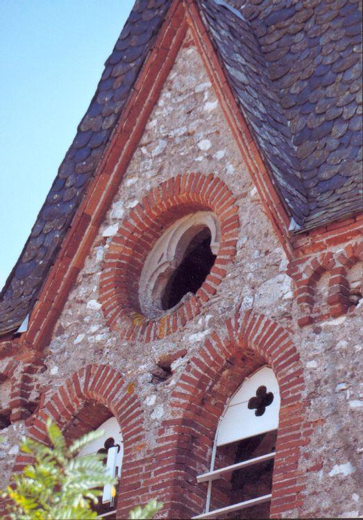 Eglise de Saint-Martial de Pouzounac à Le Garric