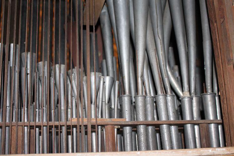Remise en état de l'orgue de l'église de Fronton