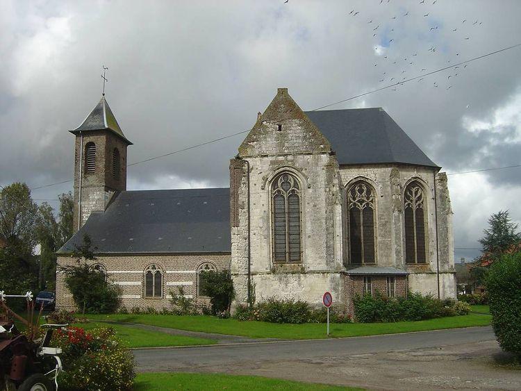 Eglise Notre-Dame de l'Assomption d'Estrées-les-Crécy