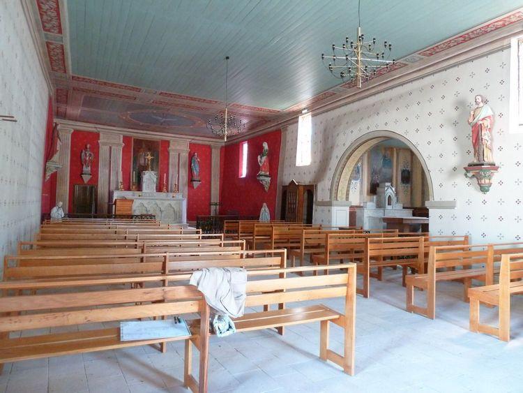 Église Saint-Martin à Coutures