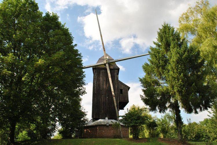 Le moulin de Stavèle dit de Westmolen à Naours