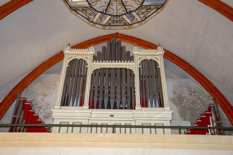 orgue de l'église saint-nicolas de brunehamel