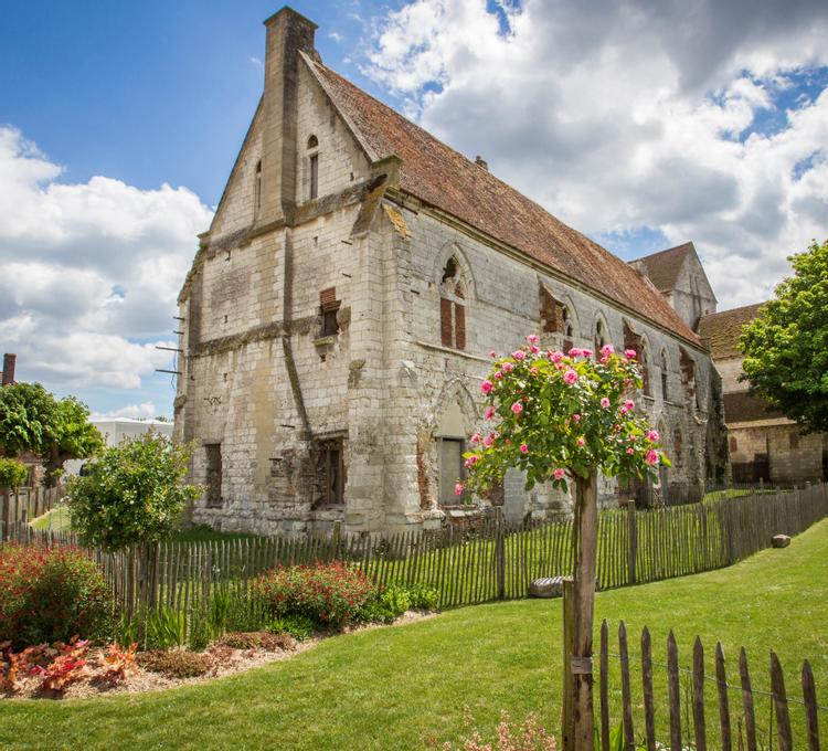 Le logis des moines de la Maladrerie Saint-Lazare de Beauvais