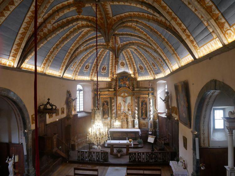 Retable de l'église Saint-Martin