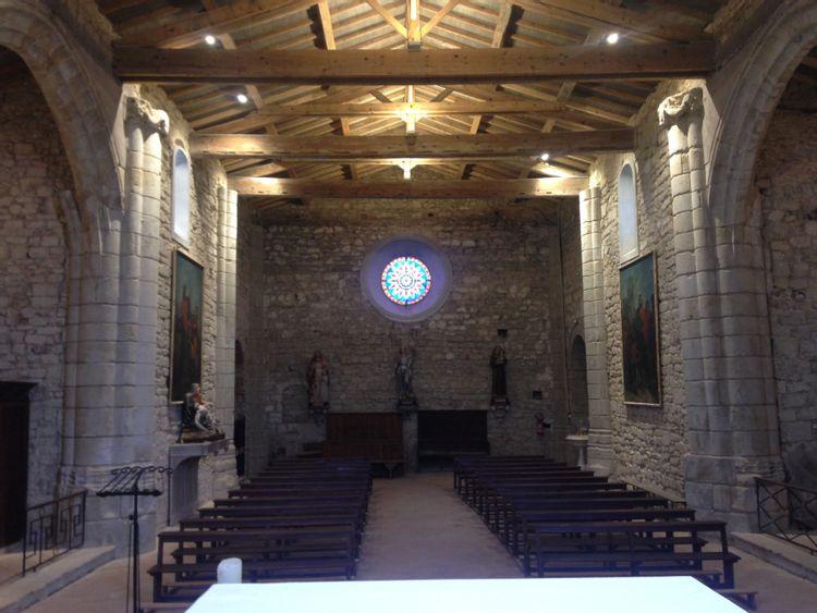 Eglise Saint-Eloi à La Salvetat-Lauragais dans la Haute-Garonne