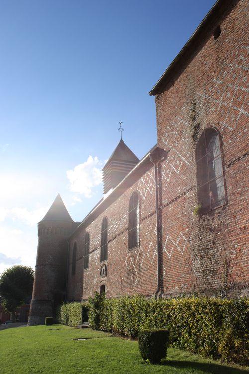 Eglise Saint-Martin d'Esquéhéries dans l'Aisne