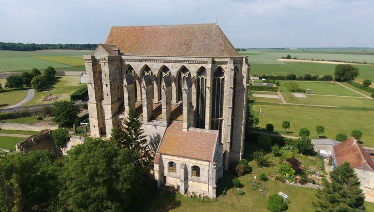 Abbaye de Saint-Martin-aux-Bois dans l'Oise