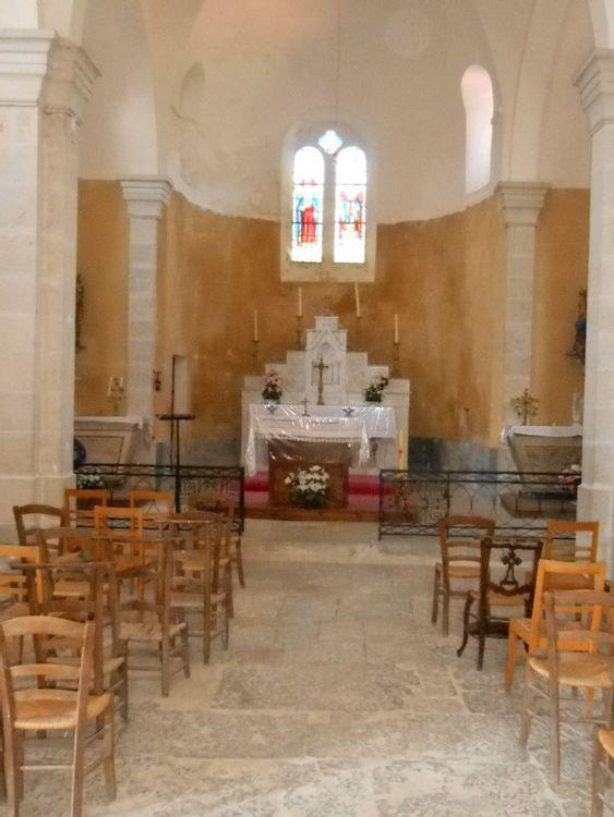 Vitraux de l'église Saint Blaise